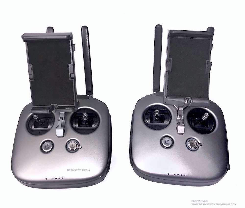 two person drone operation dji inspire 2 remote controllers